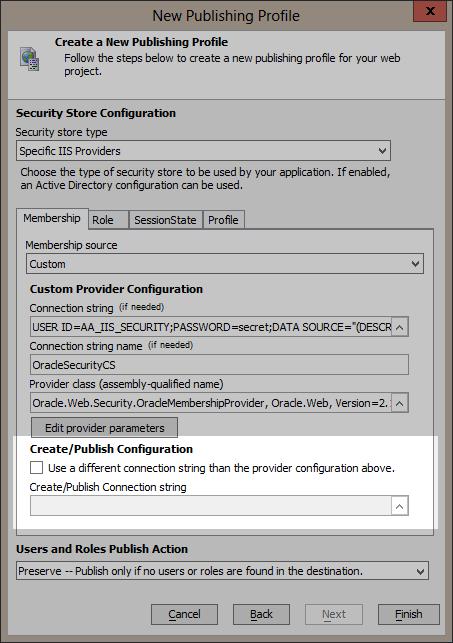 Custom Provider Configuration - Alpha Anywhere Application