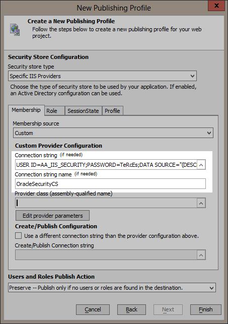 Configure providers.