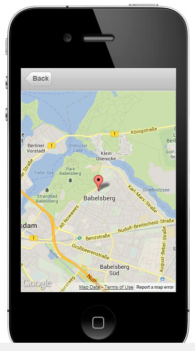 Build mobile apps with mapping and GPS capability
